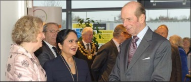 Opened in November 2011 by HRH The Duke of Kent